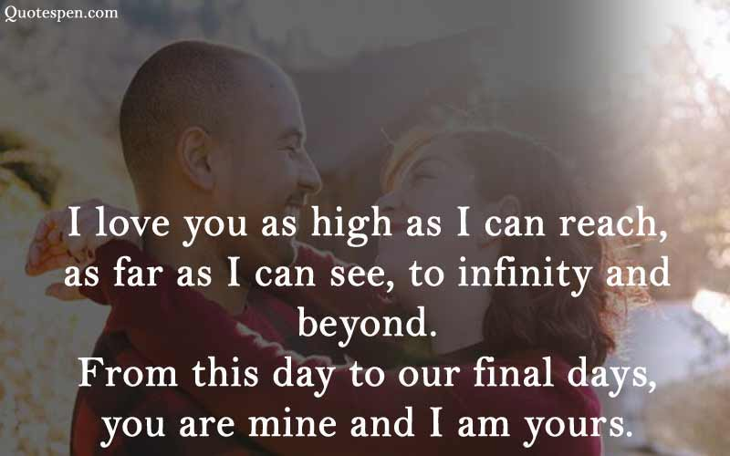 i love you - love quote for husband