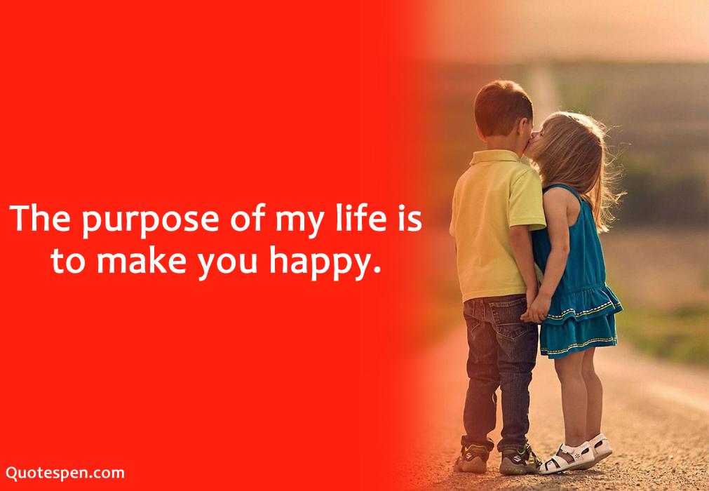 make you happy - love quote