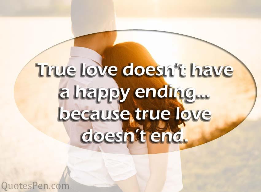 true-love doesn't end