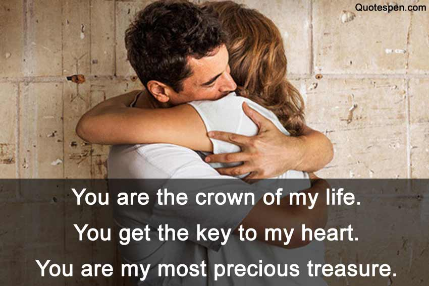 you are the crown of my life quote
