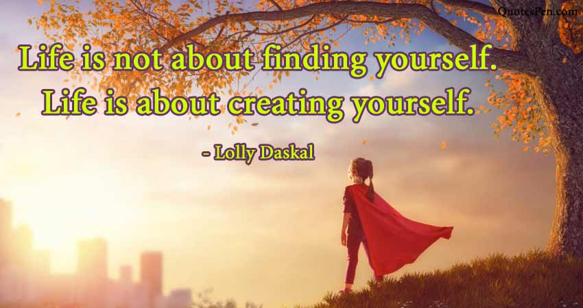 creating-yourself-quote