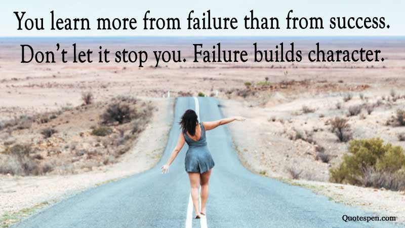failure-builds-character