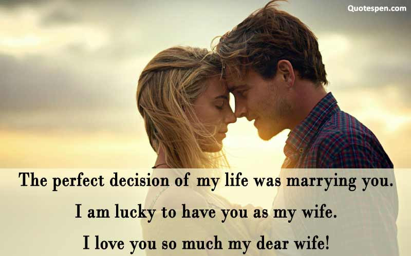 i love u may dear wife