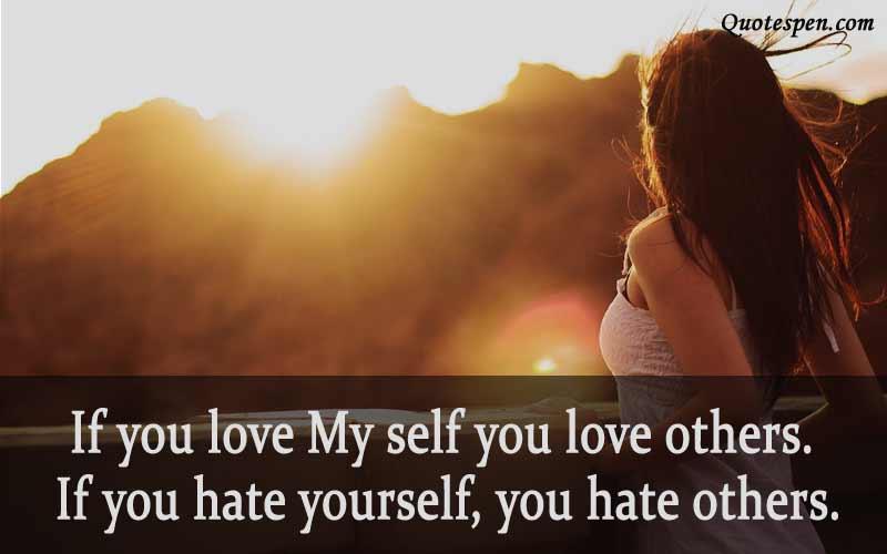if-you-love-my-self