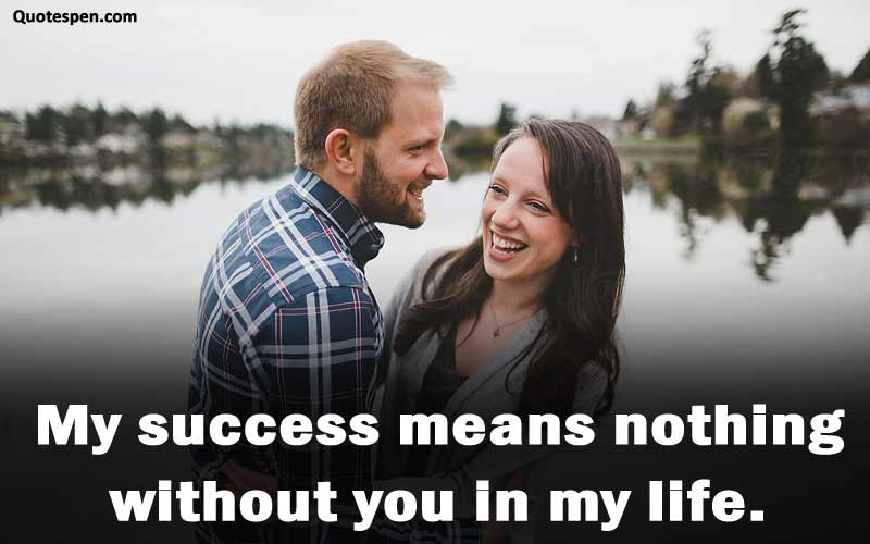 love quote for wife in english