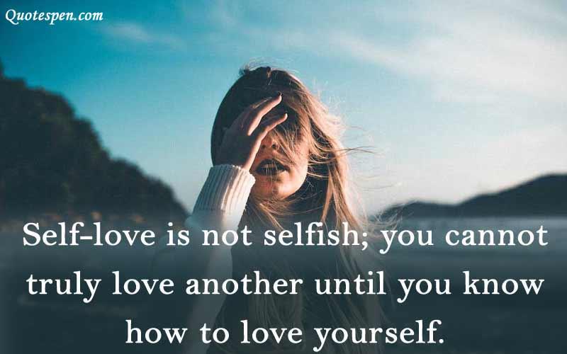 self-love-is-not-selfish