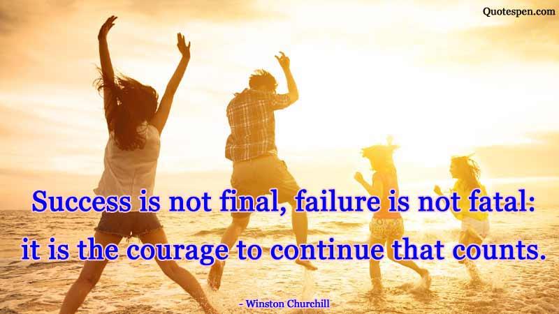 success-is-not-final