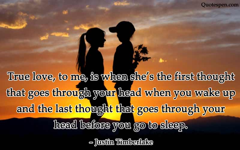 true love heart touching quote