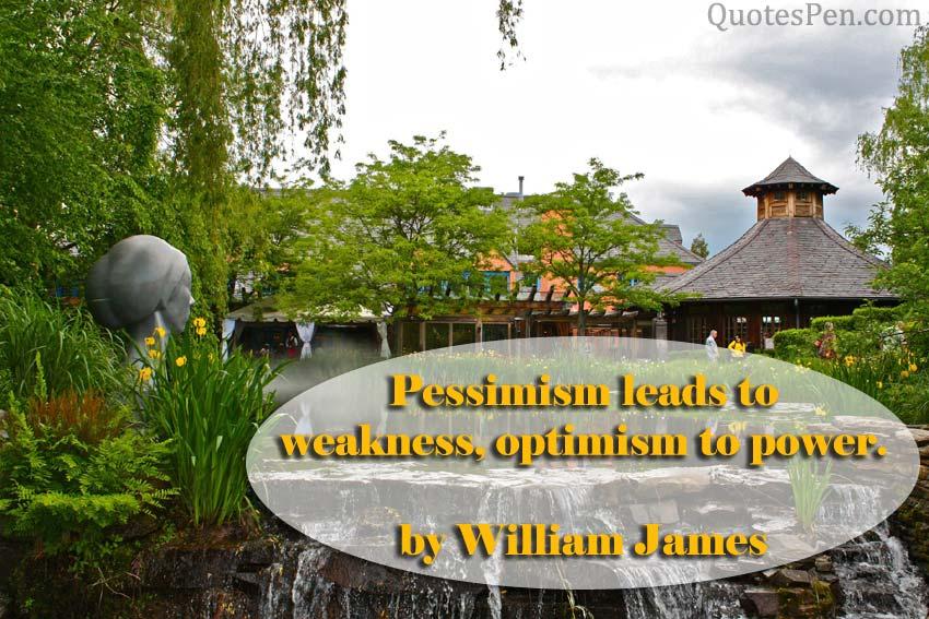 weakness-optimism