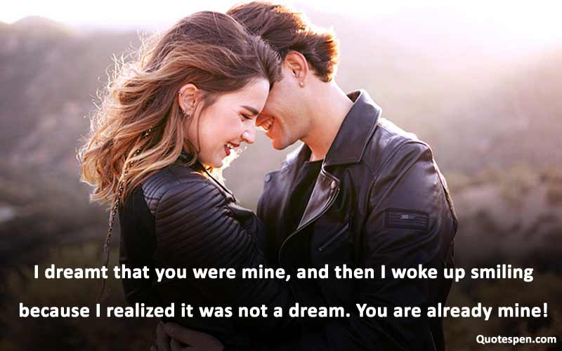 you were mine-love quotes for wife