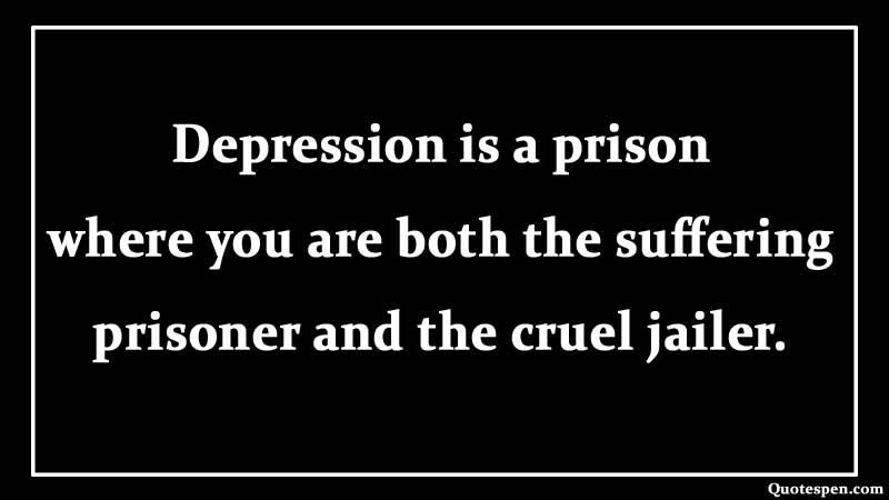 depression-is-a-prison