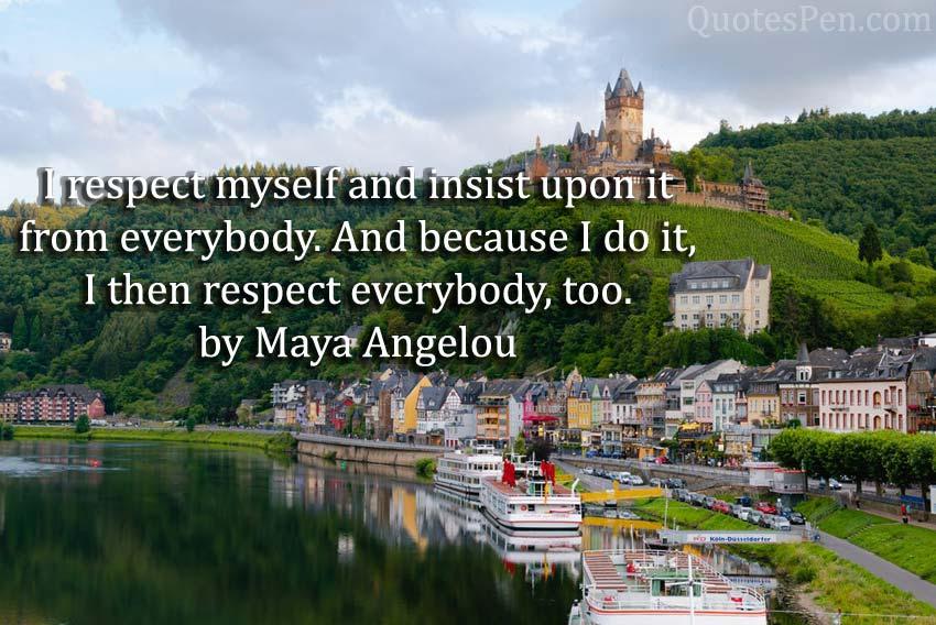 i-respect-myself-quote