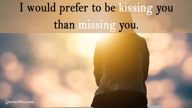 kissing-you-missing-message