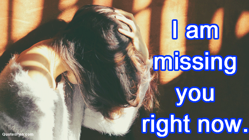 I missing you quotes