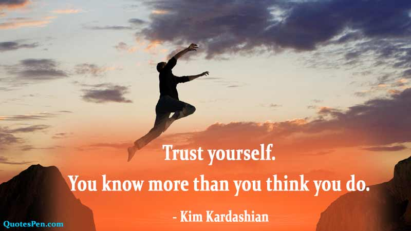 trust-yourself-quote
