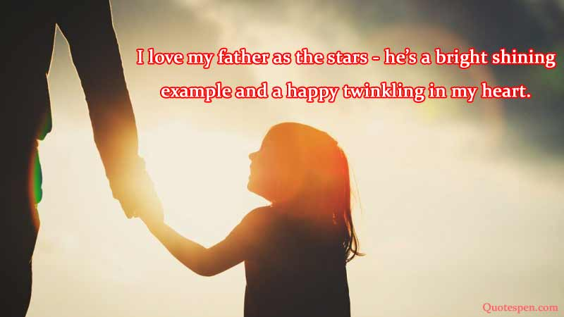 I-love-my-father