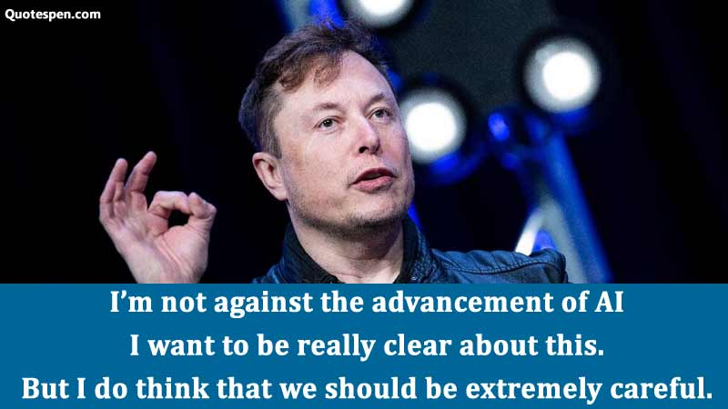 advancement-of-ai-quote-elon