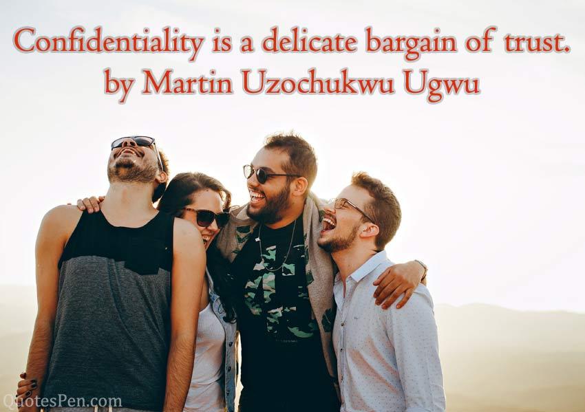 confidentiality-delicate
