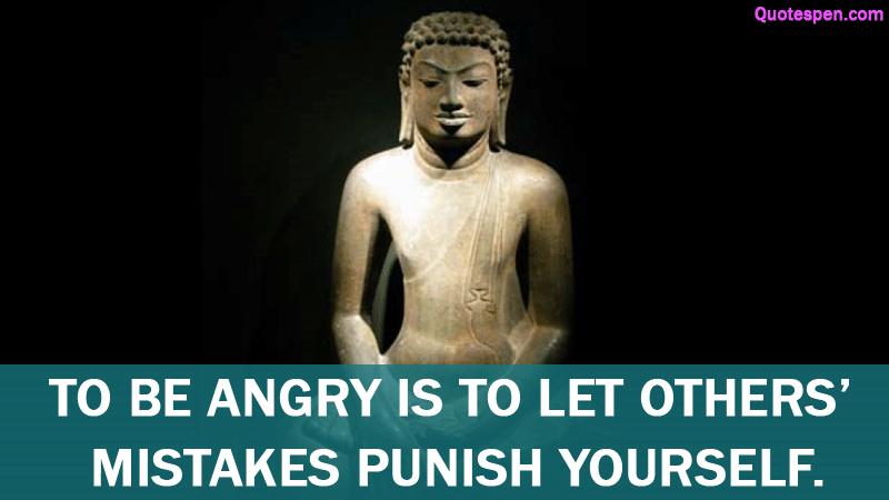 Gautama Buddha Quotes About Anger