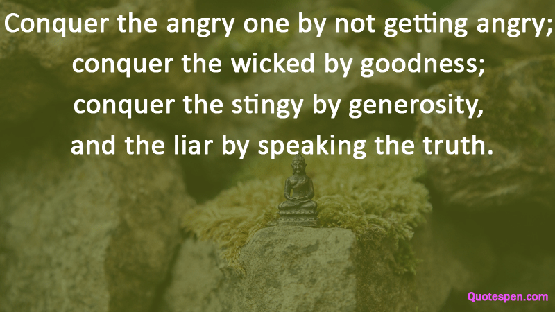 conquer the angry