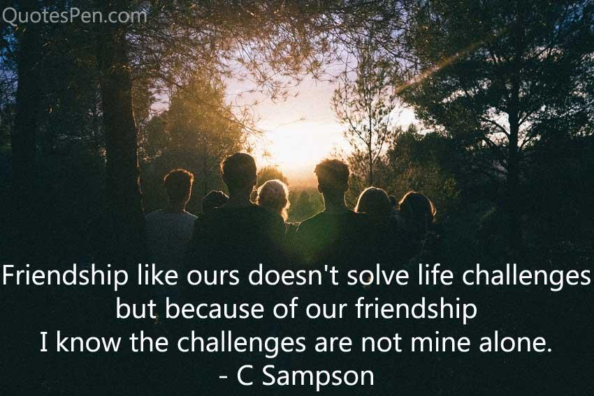 happy friendship day quote