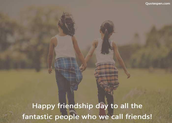 happy friendship day fantastic friends