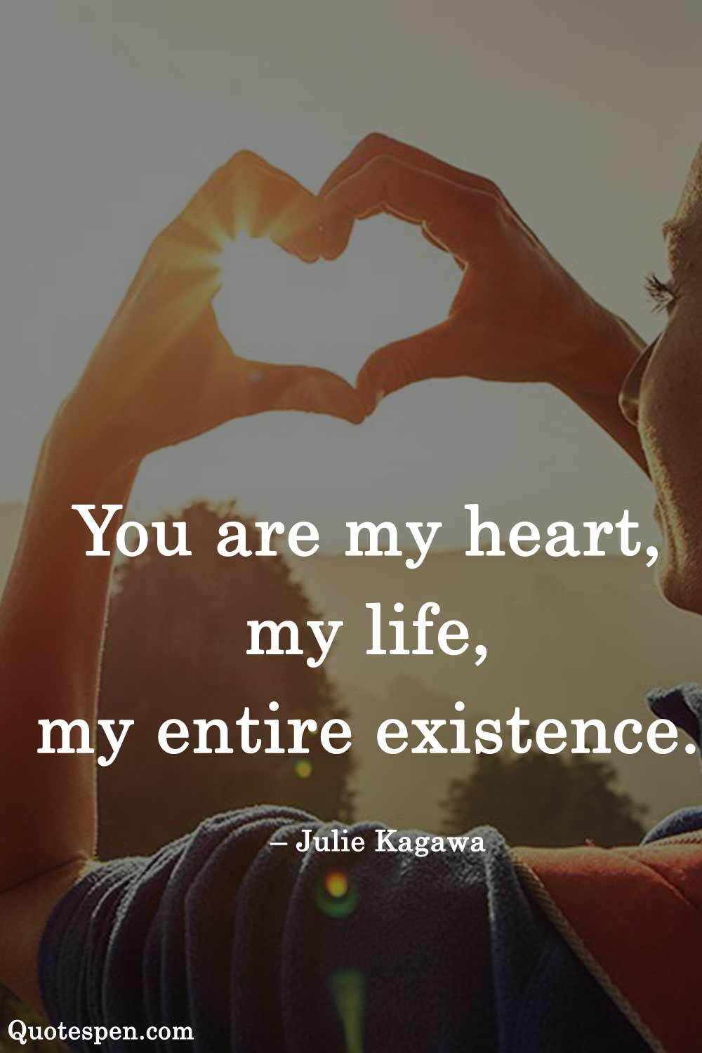 heart touching love quote for him