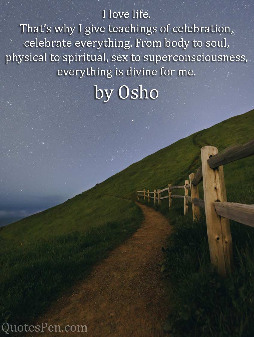 i-love-life-osho-quote