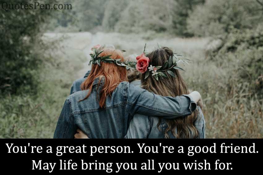 happy friendship day wihes-english