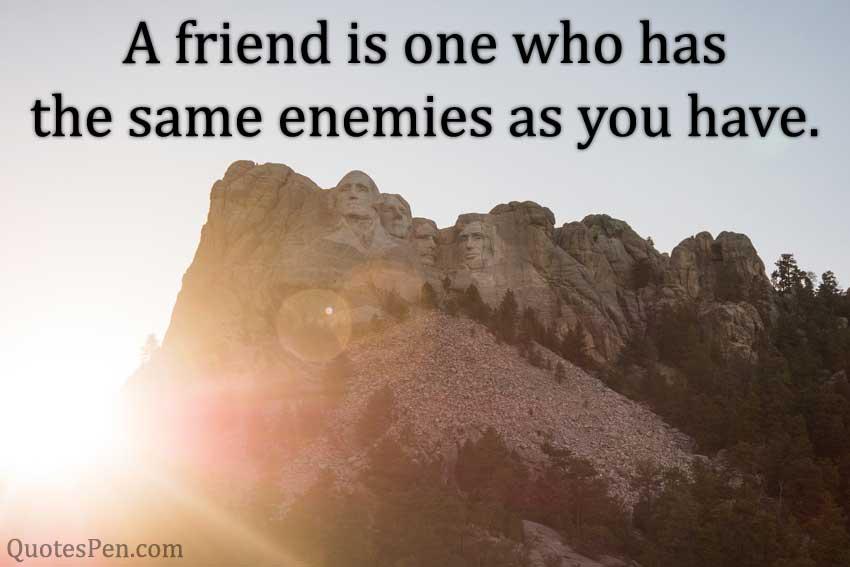 friend-enemies-Abraham Lincoln Messages