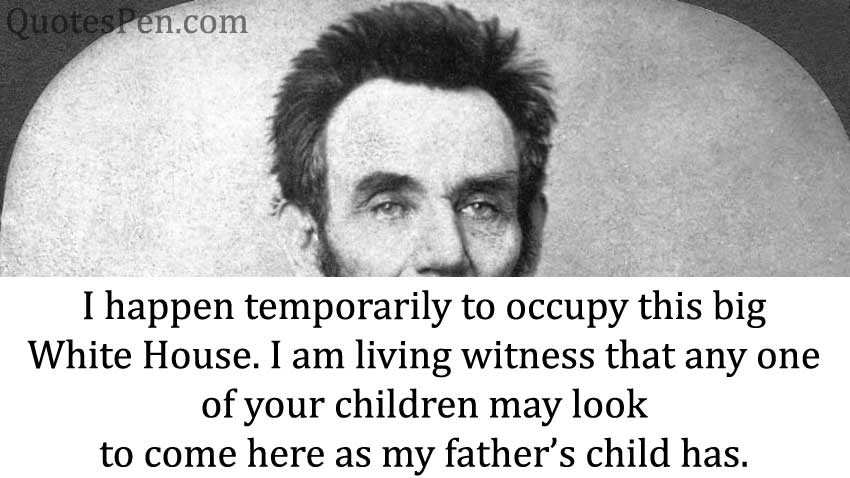 happen-temporarily-Abraham Lincoln Sayings