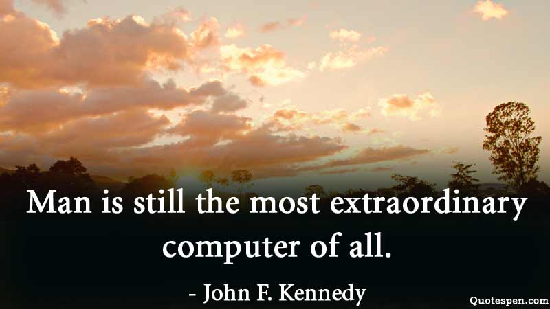 extraordinary quote by john f kennedy