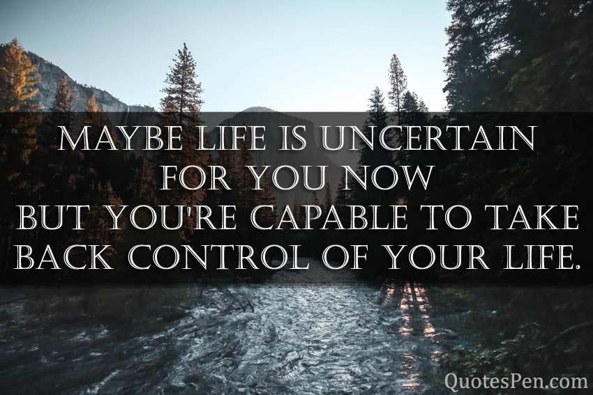 life-uncertain
