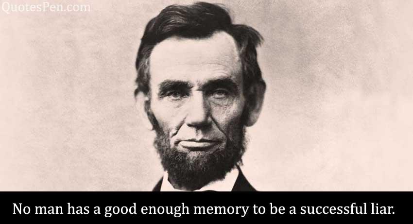 no-man-has-good-memory