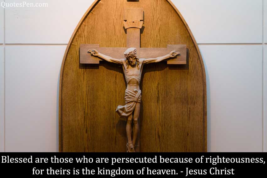 blessed-persecuted-Jesus Quotes About Life