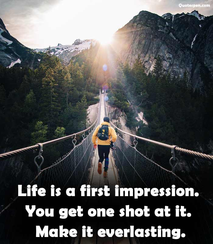 life-is-a-first-impression
