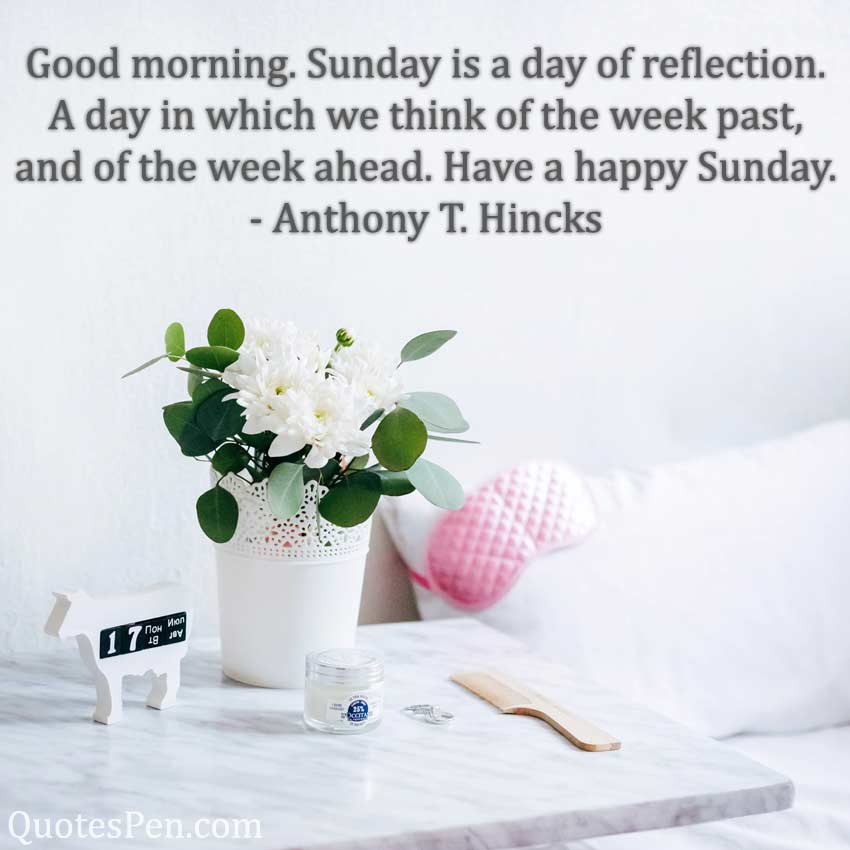 sunday-is-a-day-of-reflection