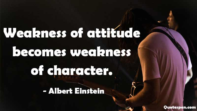 weakness-of-attitude