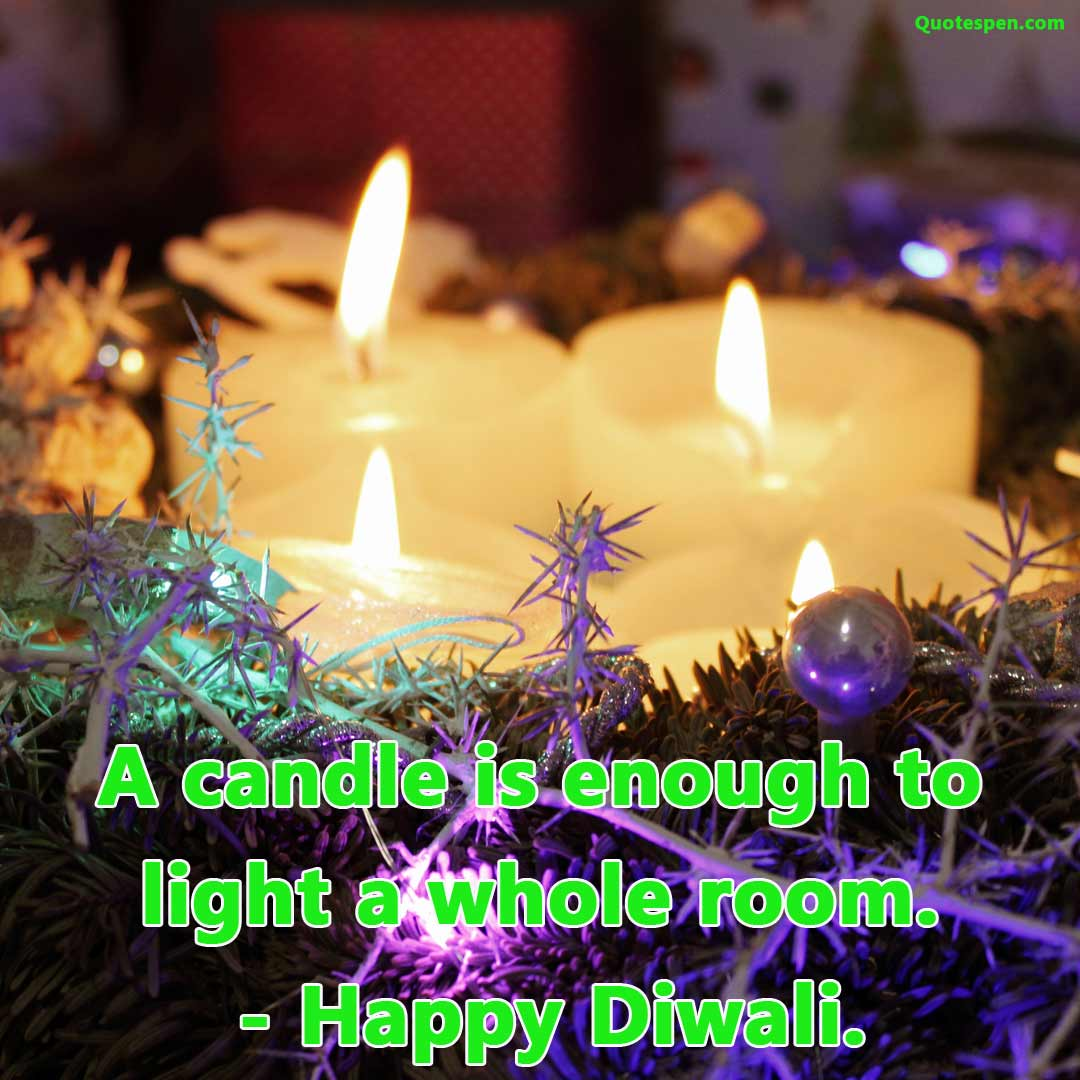 candle-is-enough-Diwali captions for Instagram