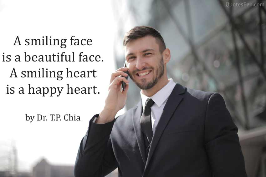 a-smiling-face-quote