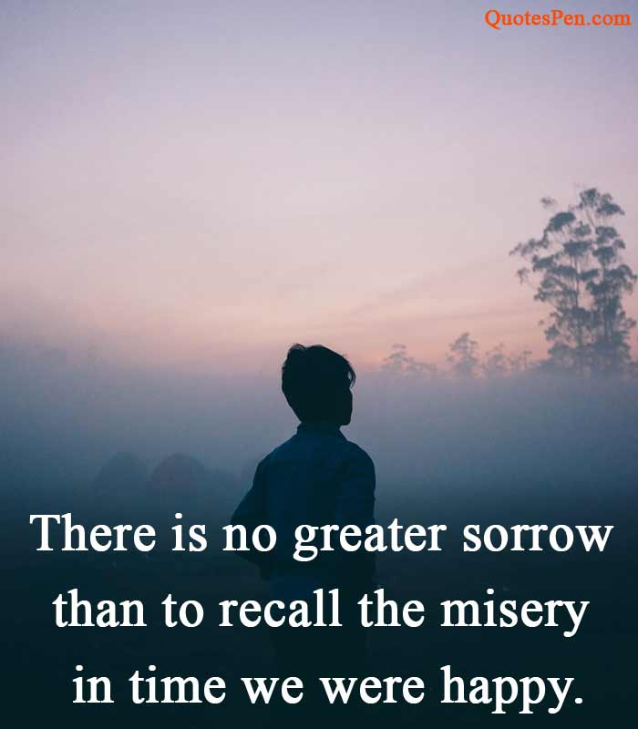 greater sorrow sad quote image instagram