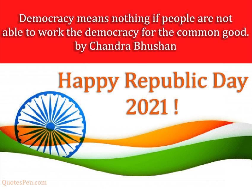 2021 Happy Republic Day Quote