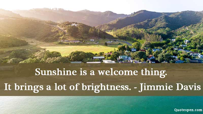 good-morning-quote-on-sunshine