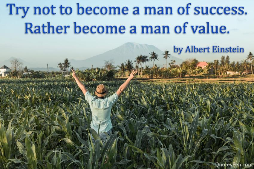man-of-success-quote