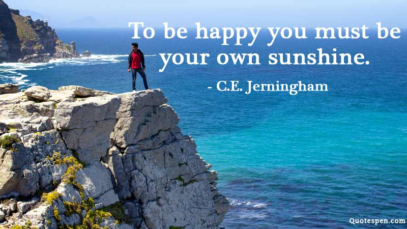 own-sunshine-quote