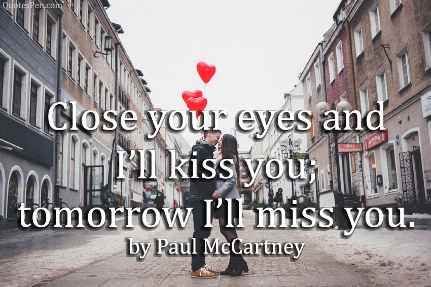 happy kiss day quote