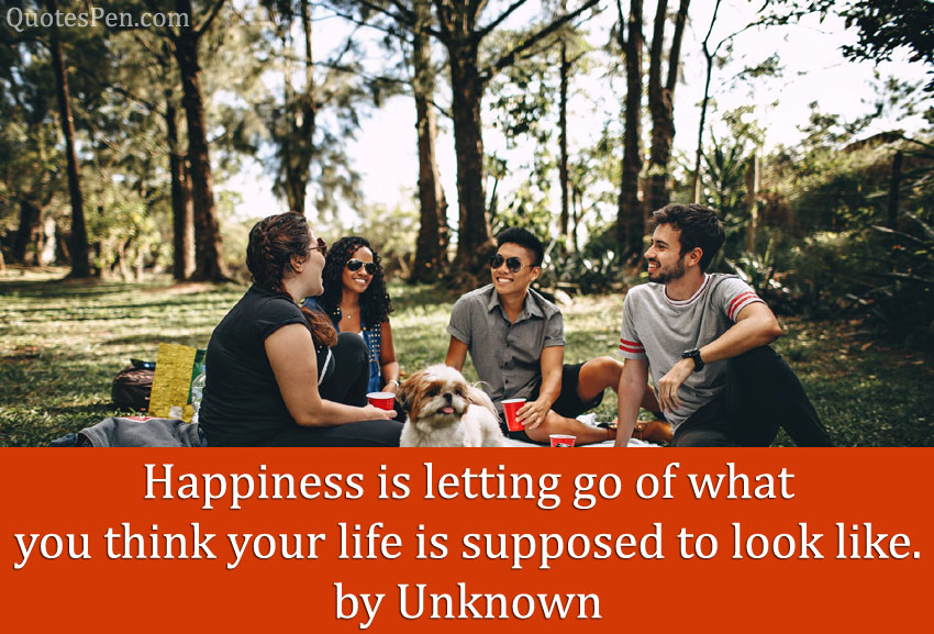 happiness in yourself quote