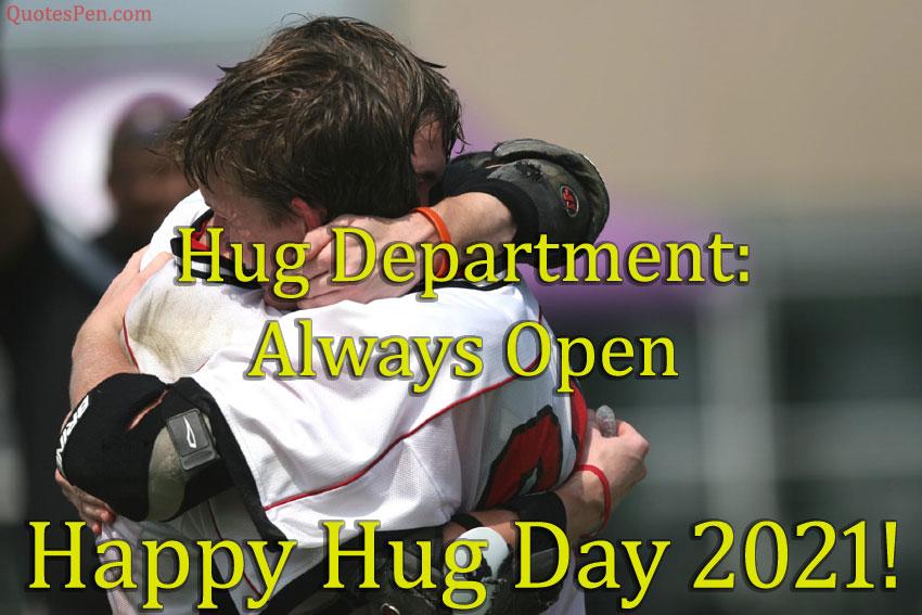 hug-department-always-open