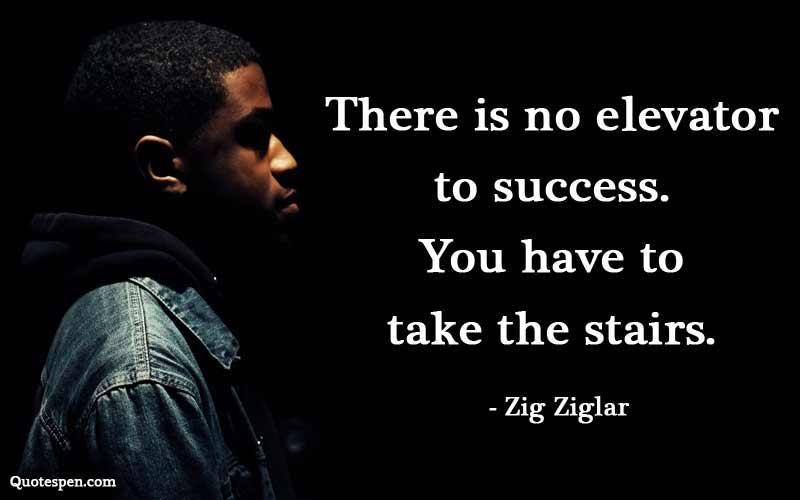no-elevator-to-success