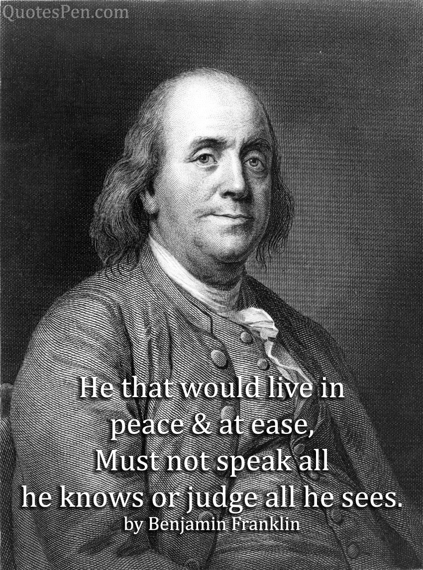 quotes-by-benjamin-franklin
